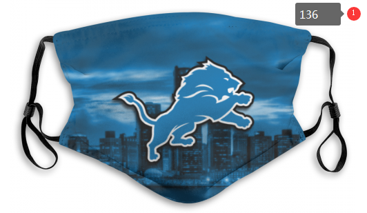 NFL Detroit Lions 9 Dust mask with filter