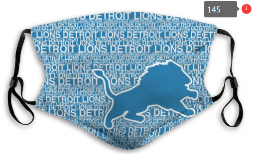 NFL Detroit Lions Dust mask with filter