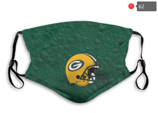 NFL Green Bay Packers 10 Dust mask with filter