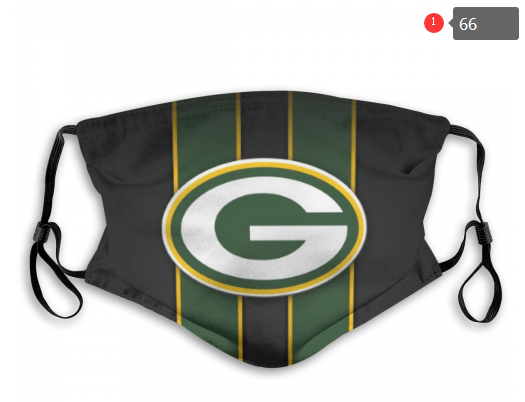 NFL Green Bay Packers 7 Dust mask with filter
