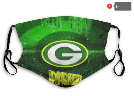 NFL Green Bay Packers 8 Dust mask with filter