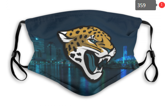 NFL Jacksonville Jaguars 1 Dust mask with filter