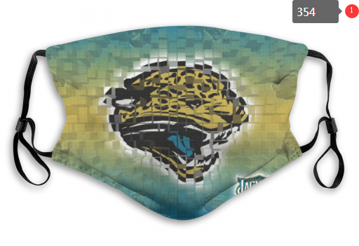 NFL Jacksonville Jaguars 6 Dust mask with filter