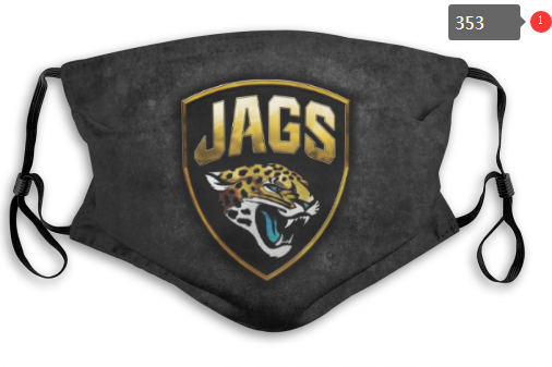 NFL Jacksonville Jaguars 7 Dust mask with filter