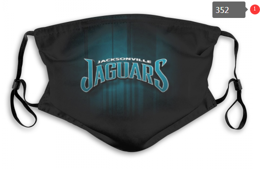 NFL Jacksonville Jaguars 8 Dust mask with filter