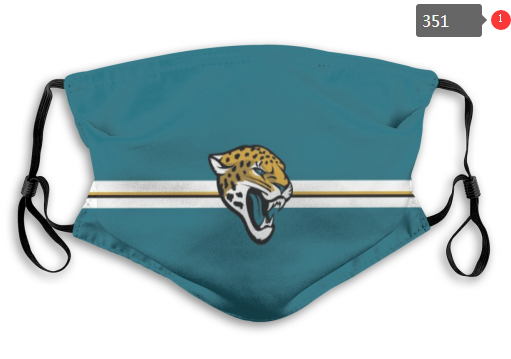 NFL Jacksonville Jaguars 9 Dust mask with filter