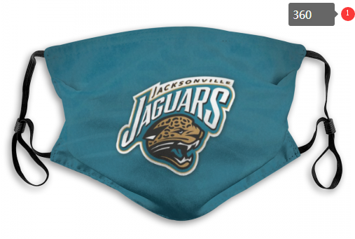 NFL Jacksonville Jaguars Dust mask with filter