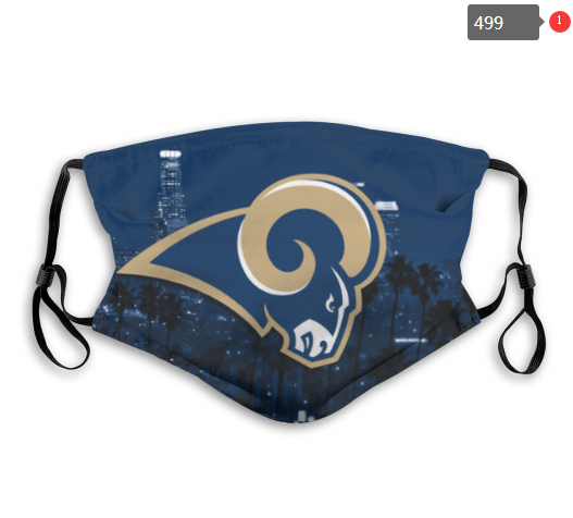 NFL Los Angeles Rams 3 Dust mask with filter