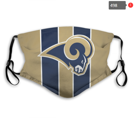 NFL Los Angeles Rams 4 Dust mask with filter
