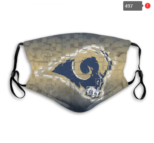 NFL Los Angeles Rams 5 Dust mask with filter
