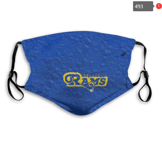 NFL Los Angeles Rams 9 Dust mask with filter