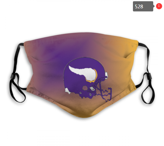 NFL Minnesota Vikings 5 Dust mask with filter