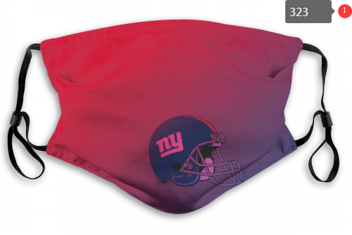 NFL New York Giants 3 Dust mask with filter