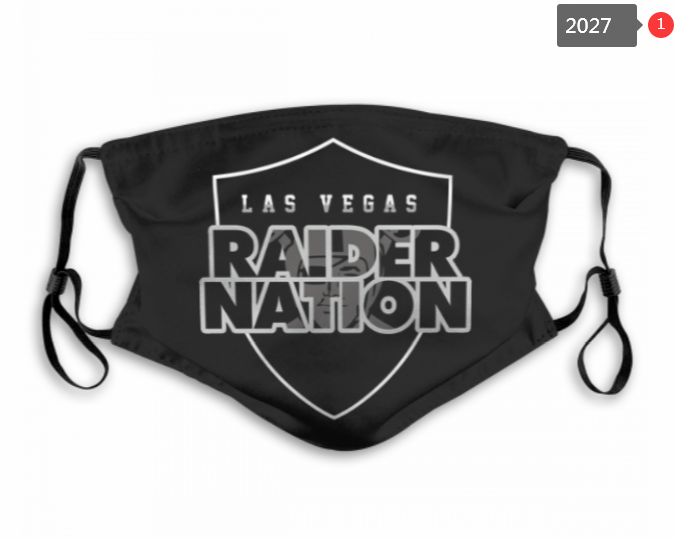 NFL Oakland Raiders 31 Dust mask with filter