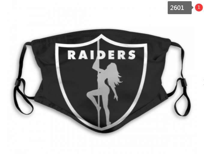 NFL Oakland Raiders 54 Dust mask with filter