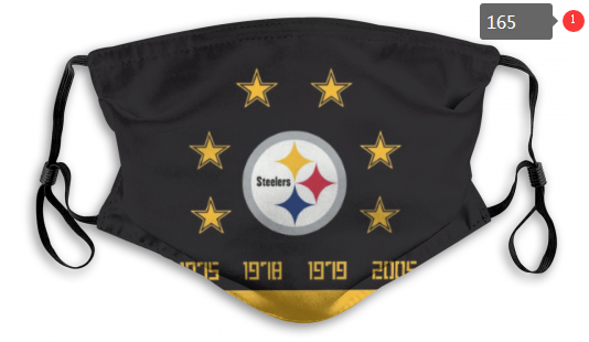 NFL Pittsburgh Steelers 5 Dust mask with filter