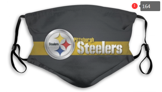 NFL Pittsburgh Steelers 6 Dust mask with filter