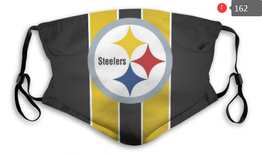 NFL Pittsburgh Steelers 8 Dust mask with filter