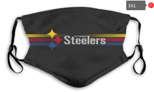NFL Pittsburgh Steelers 9 Dust mask with filter