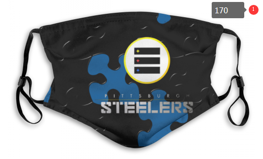 NFL Pittsburgh Steelers Dust mask with filter