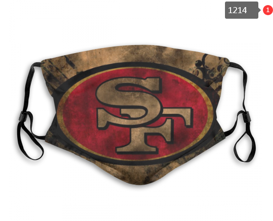NFL San Francisco 49ers 3 Dust mask with filter