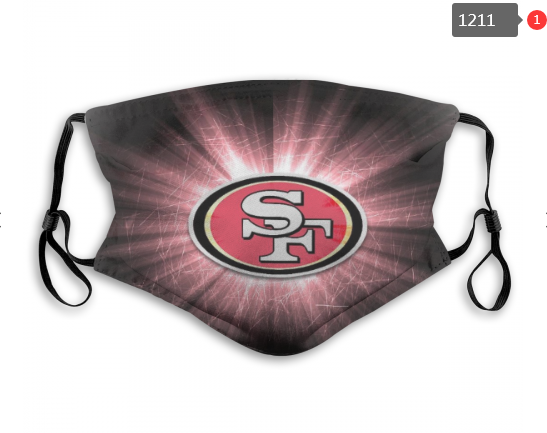 NFL San Francisco 49ers 6 Dust mask with filter