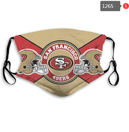 NFL San Francisco 49ers Dust mask with filter