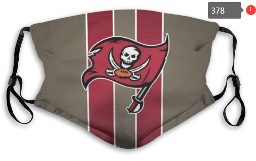 NFL Tampa Bay Buccaneers 11 Dust mask with filter