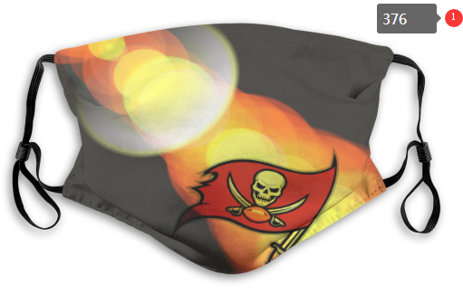 NFL Tampa Bay Buccaneers 13 Dust mask with filter