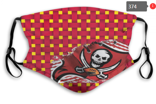 NFL Tampa Bay Buccaneers 15 Dust mask with filter