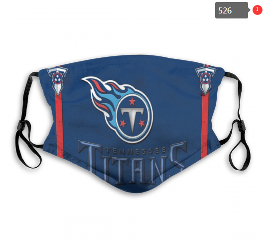 NFL Tennessee Titans 1 Dust mask with filter