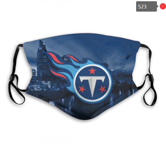 NFL Tennessee Titans 4 Dust mask with filter