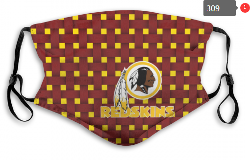 NFL Washington Red Skins 1 Dust mask with filter