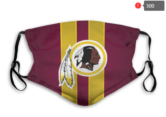 NFL Washington Red Skins 10 Dust mask with filter