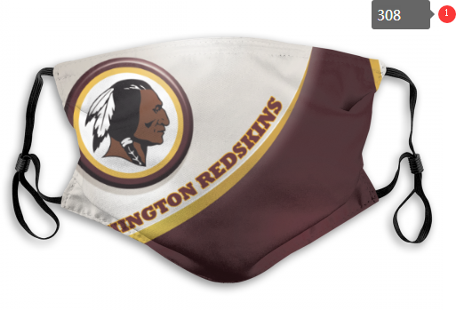 NFL Washington Red Skins 2 Dust mask with filter