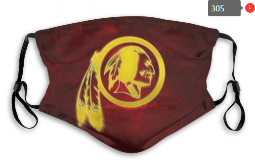 NFL Washington Red Skins 5 Dust mask with filter