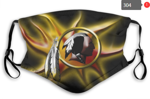 NFL Washington Red Skins 6 Dust mask with filter