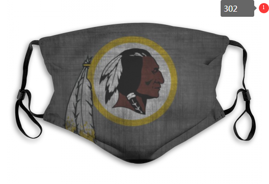 NFL Washington Red Skins 8 Dust mask with filter
