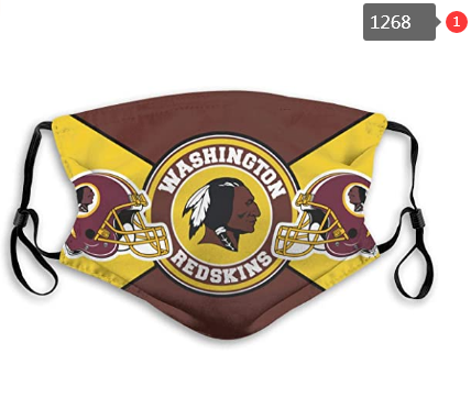 NFL Washington Red Skins Dust mask with filter