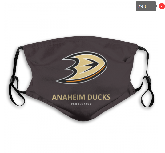NHL Anaheim Ducks 1 Dust mask with filter