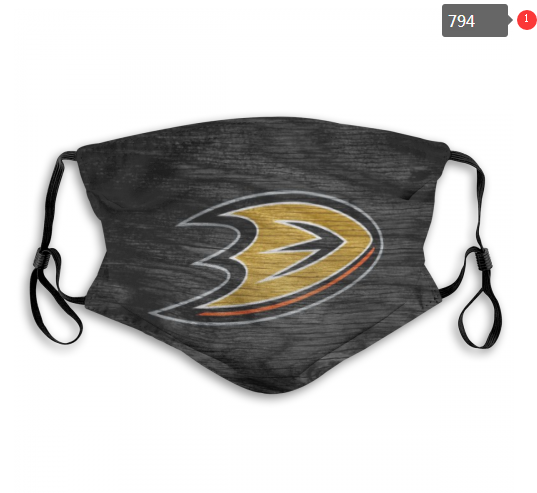 NHL Anaheim Ducks Dust mask with filter