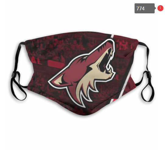 NHL Arizona Coyotes 1 Dust mask with filter