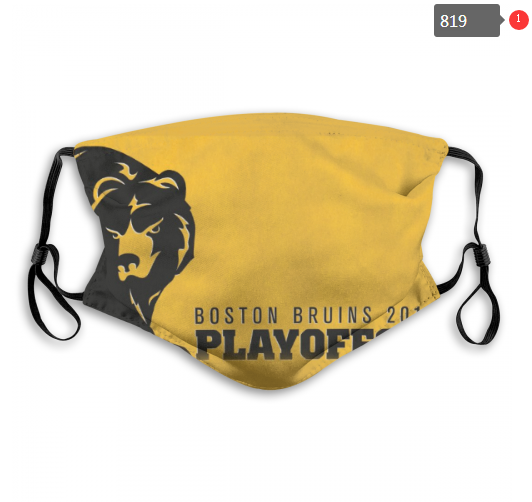 NHL Boston Bruins 2 Dust mask with filter