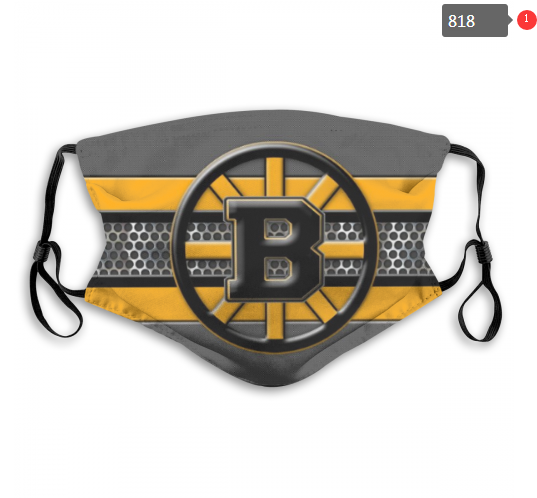 NHL Boston Bruins 3 Dust mask with filter