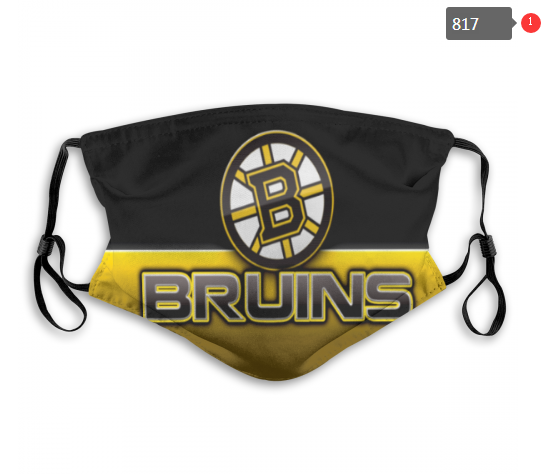 NHL Boston Bruins 4 Dust mask with filter