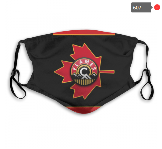 NHL Calgary Flames 3 Dust mask with filter