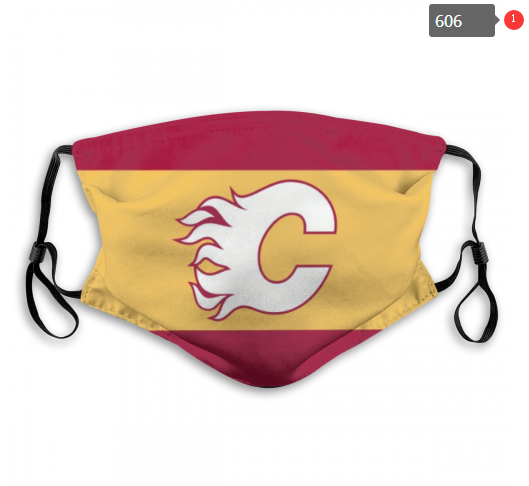 NHL Calgary Flames 4 Dust mask with filter