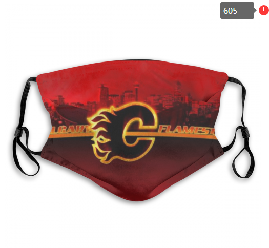 NHL Calgary Flames 5 Dust mask with filter