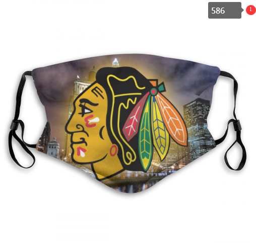 NHL Chicago Blackhawks 7 Dust mask with filter