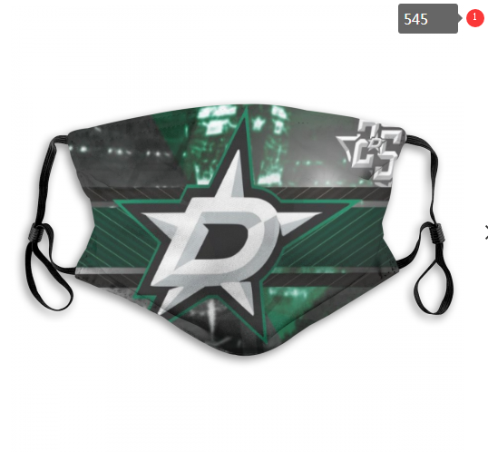 NHL Dallas Stars 2 Dust mask with filter